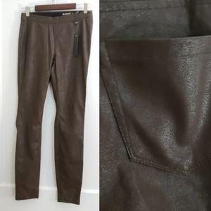 NEW Blank NYC | 27 vegan leather leggings brown